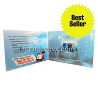 2.4 inch LCD Video Greeting Card Advertising Brochure VGC-024