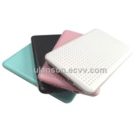 "2.5"" Stainless Iron USB .0 to SATA External HDD Enclosure HDD CASE HDD BOX"