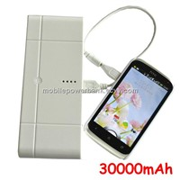 30000mah Power Bank External Charge Battery for iPhone, Samsung Galaxy S3
