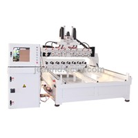 3d cylinder engraving cnc router with 8 heads (CC-MS3020K-8)