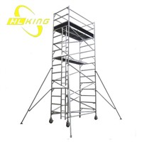 4.8m Double width Aluminium Scaffold Tower(SF-616)