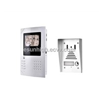 4 inch B/W Video Door Phone