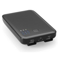 5000mAh multifunctional dual usb battery charger for P1000