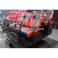 5D Motion Theater Supplier 6DOF 6 Seats Hydraulic Seats Platform Home Theater System