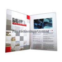 5 inch Video Greeting Card TFT LCD Brochure VGC-050