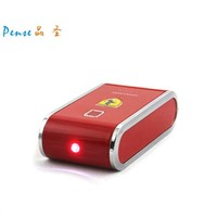 6600mah 5v 1a mobile charger power bank with flashlight