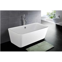 "69"" Rectanglar Freestanding Acrylic Tub"