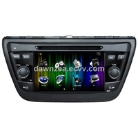 "7"" android 4.0 car dvd player for Suzuki SX4 2014"
