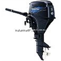 8HP FOUR STROKE OUTBOARD MOTOR TOHATSU