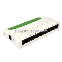 8 ports ethernet switch