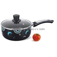 Aluminium Saucepan, Non-stick, Easy to use and clean