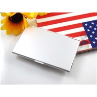 Aluminum Alloy Name Holder Card