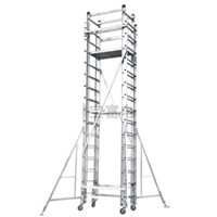 Aluminum Detachable Platform and Extension Ladder