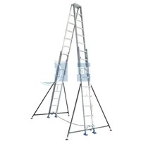 Aluminum Double-sided Extension Ladder