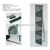 Brochure shelf/catalogue shelf/holder/ literature holder