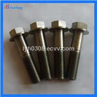 China Manufacture Excellent DIN6921 GR5(6AL4V) Titanium Hexagon Flange Bolts & Screws For Bicycle