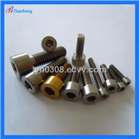 China Manufacture Excellent DIN912 GR5(6AL4V) Titanium hexagon socket / allen head bolts for Bicycle