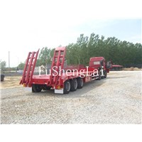 Chinese low bed trailer