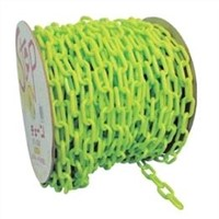 Continuous Plastic Fluorescent Decorative Barrier Chains 6mm x 3m With 2 S Hooks