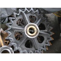 Crawler crane undercarriage parts sprocket for Hitachi CX350
