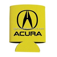 Custom Logo Imprinted Can Cooler Foam Folding Can Cooler