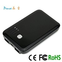 Dual USB portable battery charger/ mobile power pack/ portable power source for smartphone PS048