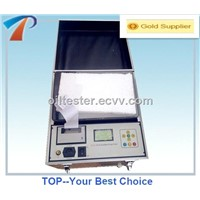 Economical bdv oil tester equipment ,fully automatical,RS232,IEC156,simple operation