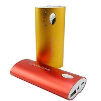 Factory direct wholesale power bank for iphone ,htc ,samsung 5200mah PS218