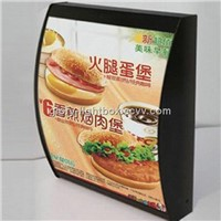 Fast Food Restaurant Light Box /display