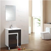 Floor PVC bathroom cabinet