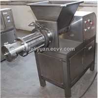 High efficiency stainless steel meat bone separator