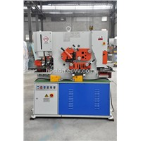 Hoston q35y series hydraulic ironworker