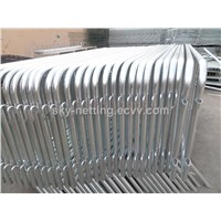 Hot Galvanized Construction Event Coated Removable Bar Barriers