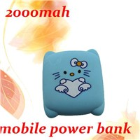 Hot! wholesale new product hello kitty power bank for iphone 4 4s PS088