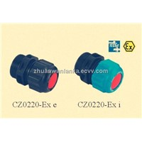 IEC and ATEX CZ0220 plastic cable gland