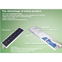 Integrated solar street light 30W