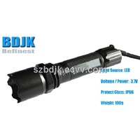 LED Flashlight for police with 120M Distance