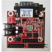 Low price TF-S1 LED serial port controller card