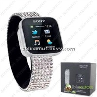 MN2 Smart watch with Swarovski Elements bluetooth