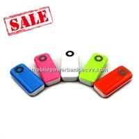 Multi Color ABS Mobile Power Bank Wth Flashlight for Mobiles