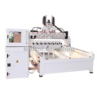 Multi-head 3D CNC Engraving Machine  CC-MS2030K8