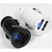 New Arrival~Latest Unique Design Colorful 5V 2.1A/3.1A Dual USB Car Charger for Smartphone/Tablet