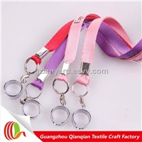 New fashion custom good quality nylon Ego e cig lanyard ring/ e-cigarette lanyard/ego lanyard