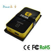 New innovative products 2014 10000mah portable power bank charger for all smartphone PS268