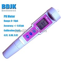 Pink Handheld Digital PH Meter