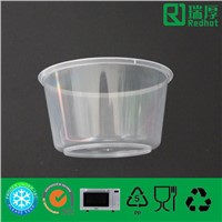 Plastic Disposable Microwaveable Food Storage Container 450ml