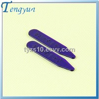 Plastic collar stay for shirt package