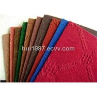 Polyester velour jacquard carpet