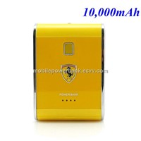 Portable Battery Pack, External Battery Pack, High Capacity 10,000mAh Power Bank Charger,USB Output