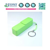 Power Bank Fashion Series Square Lipstick Style Backup Battery Charger
